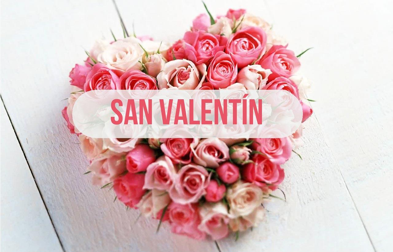 corazón de San Valentin
